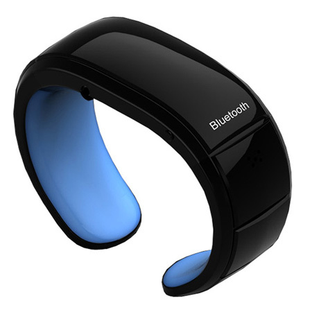 Winait Vibrating Bluetooth Bracelet with Caller id and Pedometer Smart Bracelet