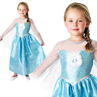 Children Frozen Dress Kids Elsa Dress