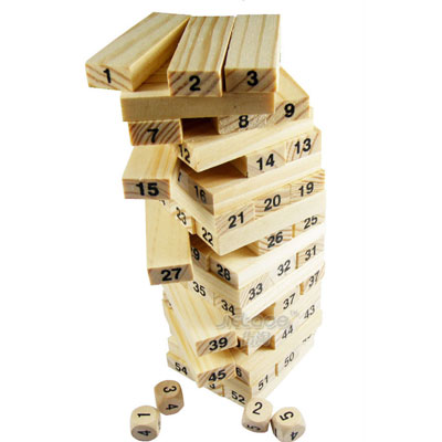 Baby Digital Wooden Building Blocks