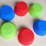 1 Silicone Muffin Cases Cake Cupcake Liner Baking Mold Round Shape