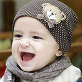 Style Baby Hat Baby Cap Baby Bear Hat Infant Hat Infant Cap Headress Kids' Cap 10 Colors Shippipng