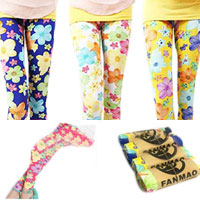 Girls' Silk Leggings 10 Colors