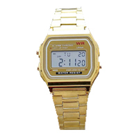 Student Gold Digital Sports Watch
