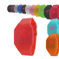 Super Thin Candy Color Touch Screen LED Watch