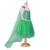 Free shipping 2015 Newest Elsa Dress Movie Cosplay