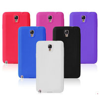 Solid Silicone Case for Samsung Galaxy Note 3