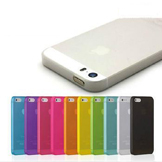 Transparent Back Cover Case for iPhone 5/5S 10 Colors