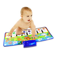 Baby Piano Shaped Music Mat 71x28cm