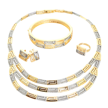 Wholesale Fashion Jewelry African Gold Jewelry Sets