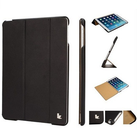 For High quality manufacturer leather ipad air case