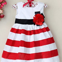 Striped Children Girl Dress