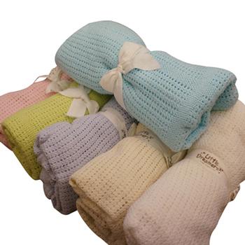 Algodão Super macio cobertor do bebê de crochê 70 * 90 cm verão cobertores recém-nascido Prop mantas e cobertores berço dormir ocasional buraco envoltório