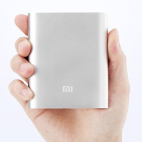 xiaomi power bank 10400mah sliver