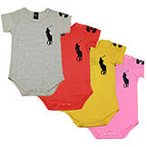 5 Colors Short-Sleeved Baby Romper Brand Infant Rompers Boy's & Girls' Baby Clothing Set