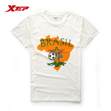Xtep World Ppremiere Football Commemorative T-shirt