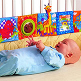 Lamaze Baby Bumper Pad Baby Toys Knowledge Around Multi-Touch Multifunction Fun & Colorful Bed Baby Bedding